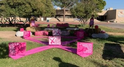 Bond Elementary's Pink Pumpkin Patch raises breast cancer Awareness